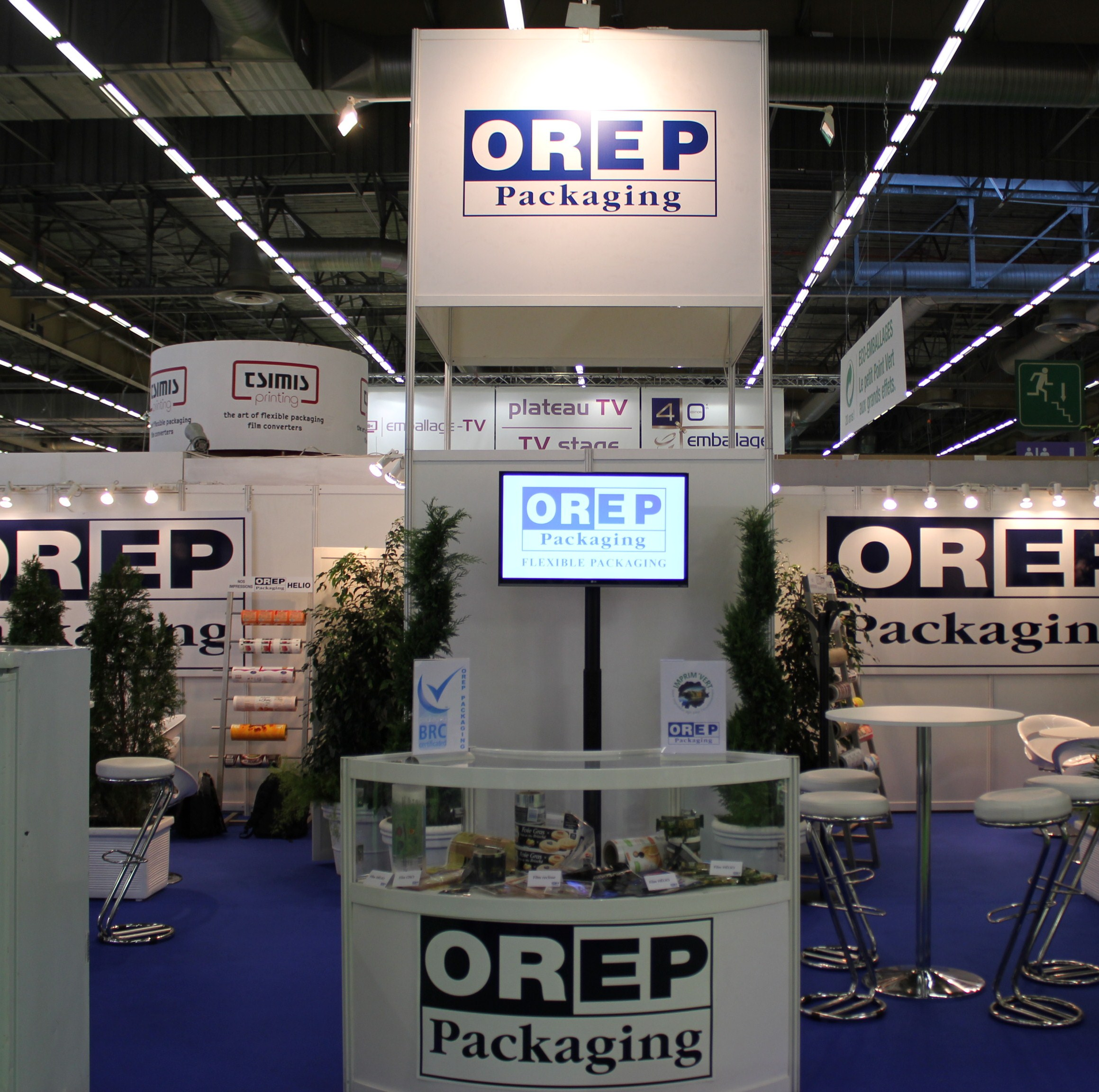 Orep packaging for Salon du packaging